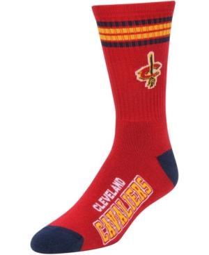 Men's Cleveland Cavaliers 4-Stripe Deuce Crew Multi Socks
