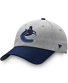Men's Gray, Blue Vancouver Canucks Snapback Hat