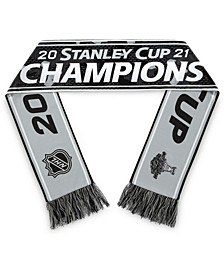 Men's and Women's Black Tampa Bay Lightning 2021 Stanley Cup Champions Locker Room Scarf
