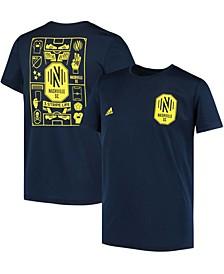 Youth Big Boys Navy Nashville SC Isn't It Iconic T-Shirt