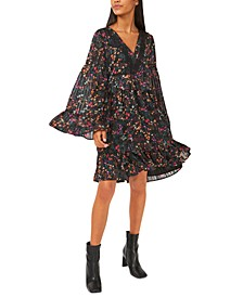 Kate Floral-Print Babydoll Dress, Created for Macy's