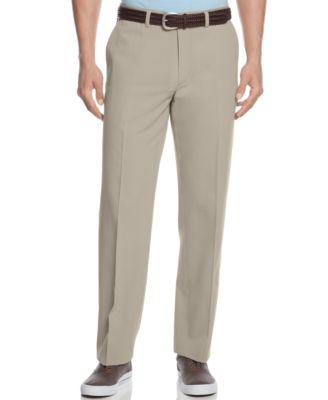 Mens Flat Front Pants XZPQBr7o