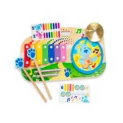 Melissa and Doug Blues Clues You Music Maker Board, 5 Piece