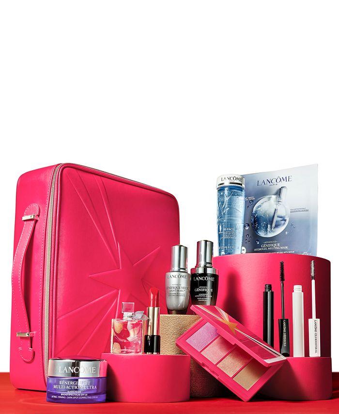 Lancôme - Beauty Box Featuring 10 Full Size Favorites for $72.50 with any $42 Lancôme Purchase. A $555 Value