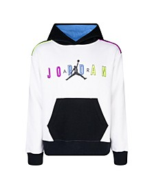 Big Girls Color Outside the Lines Pullover Sweatshirt
