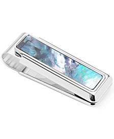 Mother of Pearl Money Clip