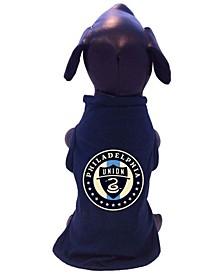 Navy Philadelphia Union Pet T-shirt