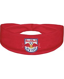 Red New York Red Bulls Primary Logo Cooling Headband