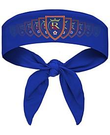 Blue Real Salt Lake Tie-Back Headband