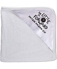 Multi Newborn Infant Inter Miami CF All Pro Hooded Towel