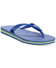 Men's Brazil Logo Flip Flop Sandals