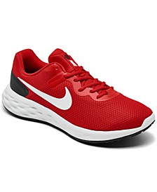 Men's Revolution 6 Next Nature Running Sneakers from Finish Line