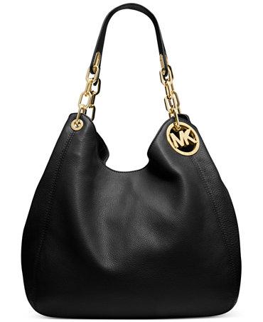 MICHAEL Michael Kors Fulton Large Shoulder Tote - Handbags ...