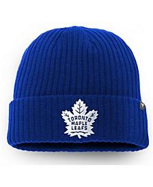 Men's Blue Toronto Maple Leafs Core Primary Logo Cuffed Knit Hat