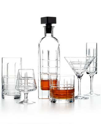 Set of 2 Street Martini Glasses