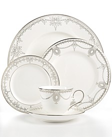 Dinnerware, Empire Pearl 5 Piece Place Setting