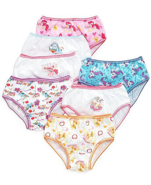 My Little Pony Cotton Underwear, 7-Pack, Toddler Girls