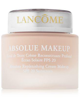 Lancôme Absolue Cream Hydrating & Replenishing SPF 20 ...