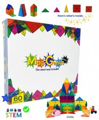 Mag-Genius Magnetic Building Blocks 60 Piece Set