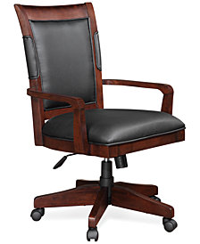 CLOSEOUT! Cambridge Home Office Chair, Executive Desk Chair