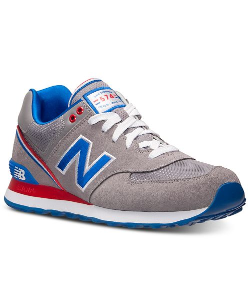 New Balance Men's 574 Stadium Jacket Casual Sneakers from