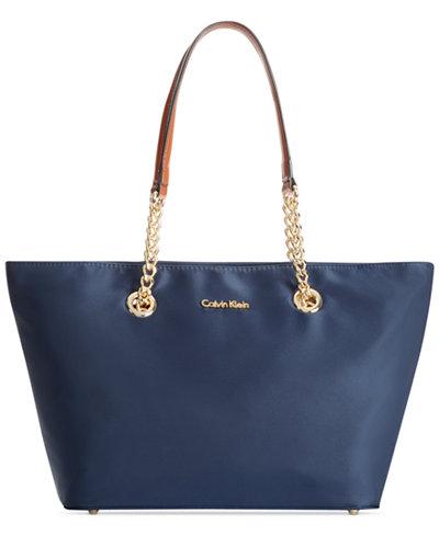 Calvin Klein Florence Top-Zip Small Tote
