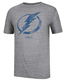 CCM Men's Short-Sleeve Tampa Bay Lightning Bigger Logo T-Shirt