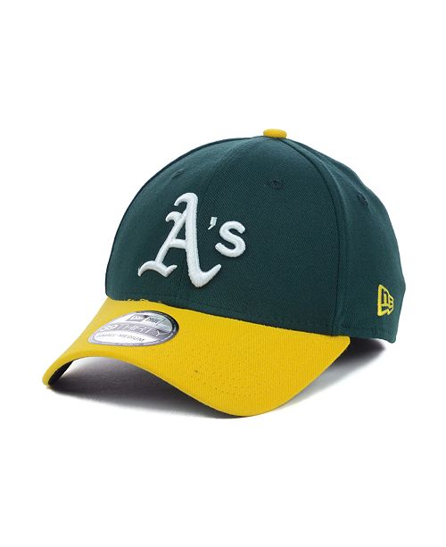 best service 63fa9 6056f ... New Era Oakland Athletics MLB Team Classic 39THIRTY Stretch-Fitted Cap  ...