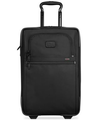 """Alpha 2 22"""" International Rolling Carry-On Expandable Suitcase"""
