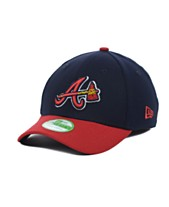 newest collection c211f 1e2dd New Era Atlanta Braves Team Classic 39THIRTY Kids  Cap or Toddlers  Cap