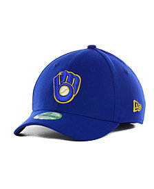 New Era Milwaukee Brewers Team Classic 39THIRTY Kids' Cap or Toddlers' Cap