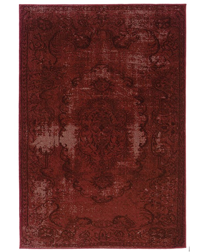 """Oriental Weavers - Revamp REV7119 6'7"""" x 9'6"""" Area Rug"""