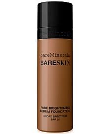 bareMinerals bareSkin Pure Brightening Serum Foundation, 1oz