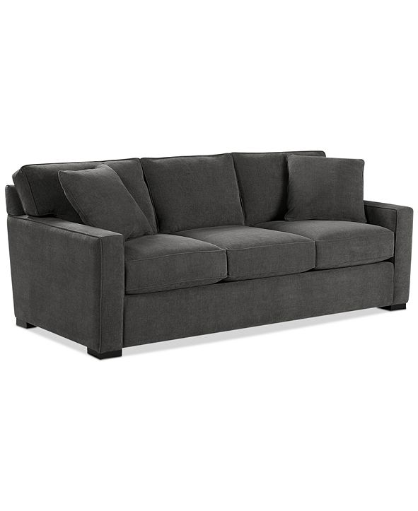 "Furniture Radley 86"" Fabric Sofa, Created for Macy's"
