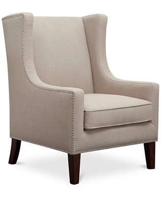 Jla Home Sloane Fabric Accent Chair Quick Ship