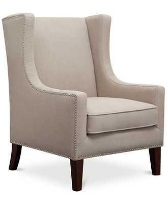 Sloane Fabric Accent Chair Quick Ship Furniture Macy s