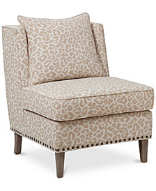 Cameron Fabric Accent Chair, Quick Ship