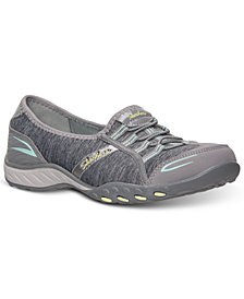 Skechers Women's Relaxed Fit Breathe Easy Good Life Memory Foam Casual Sneakers from Finish Line