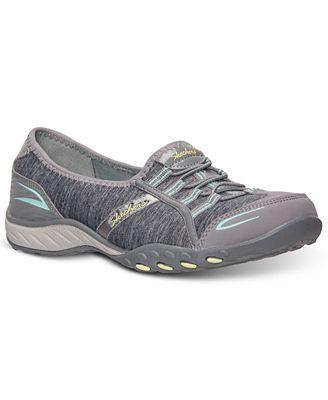 Womens Skechers Good Life Memory Foam Relaxed Fit Sneaker Gray