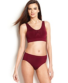 B-Smooth Wireless Bralette and High-Cut Brief