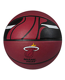 Spalding Miami Heat Size 7 Courtside Basketball
