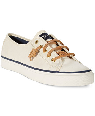 sperry s seacoast canvas sneakers sneakers shoes