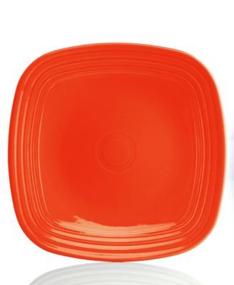 Turquoise Square Dinner Plate