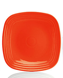 Fiesta Poppy Square Dinner Plate