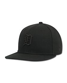 Kids' Detroit Tigers MLB Black on Black Fashion 59FIFTY Cap