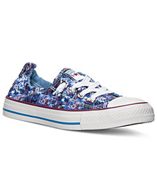 Converse Women's Chuck Taylor Shoreline Floral Casual Sneakers from Finish Line
