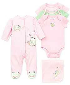 Baby Girls Sweet Frogs Gift Bundle