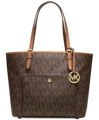 If you'd like a designer bag but don't want to shell out hundreds or thousands, you can find nice entry-level models at department stores such as Macy's, 6pm and Nordstrom. Brands you can find at these stores include Dooney & Bourke, Nine West, Michael Kors and Marc Jacobs.