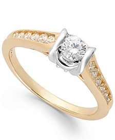 Diamond Engagement Ring in 14k Gold (1/2 ct. t.w.)