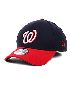 Washington Nationals MLB Team Classic 39THIRTY Stretch-Fitted Cap